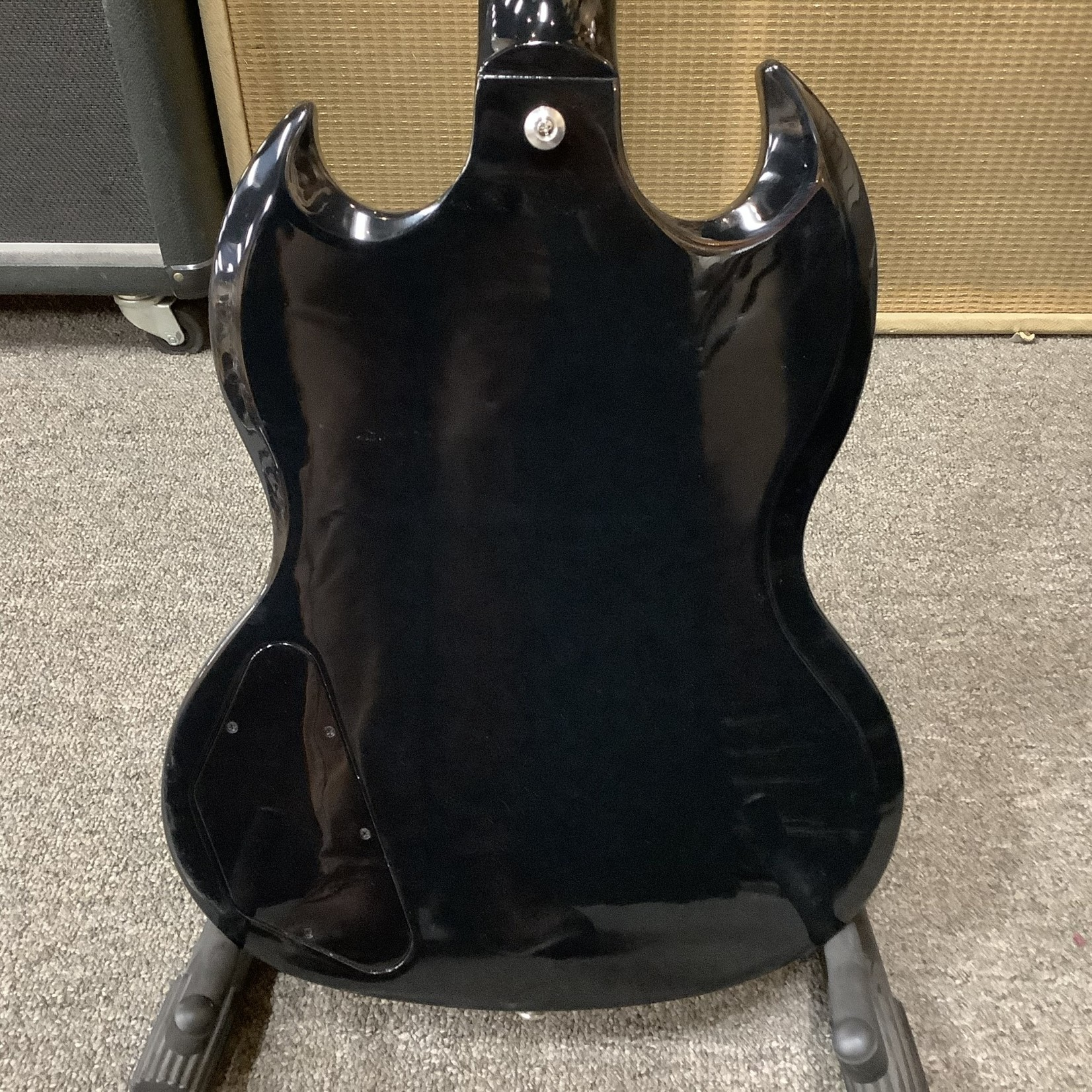 Gibson New Gibson SG Standard Ebony w/Chrome Hardware