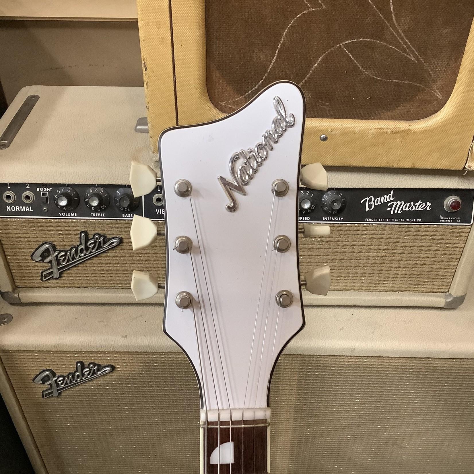 National Mid-60's National Newport Map Guitar Black