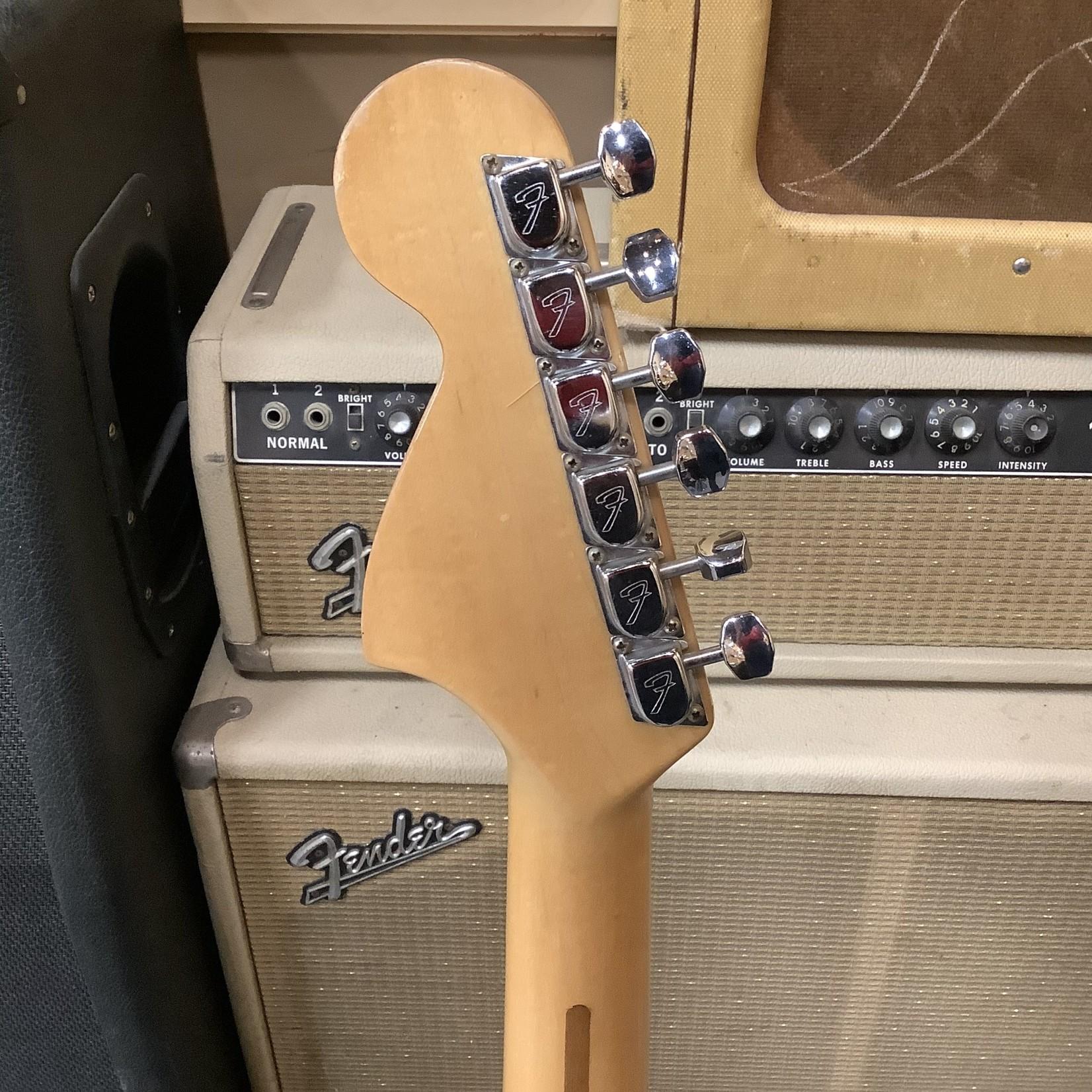 Fender 1976 Fender Stratocaster Blonde Maple Neck 3-Bolt Black Pickguard