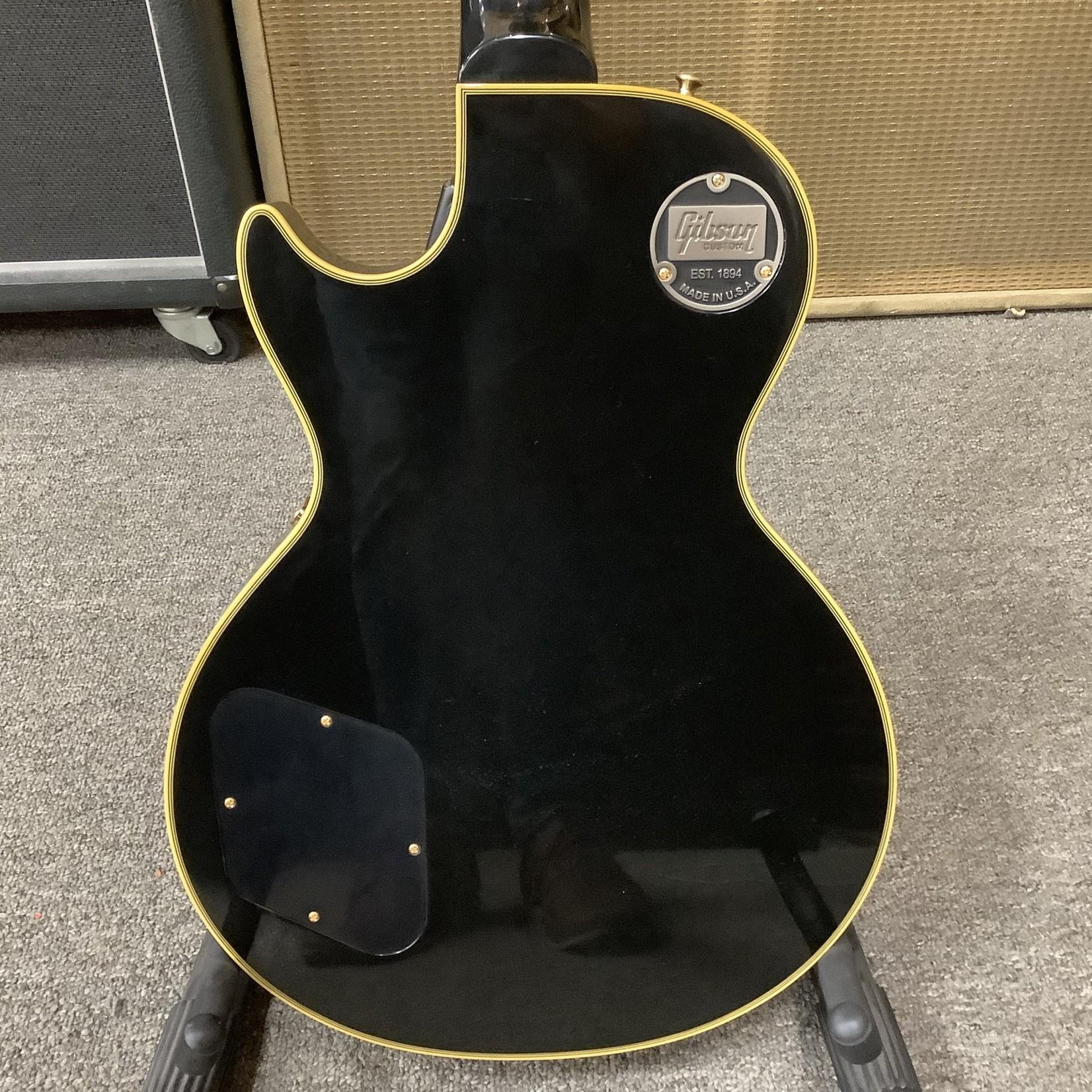 Gibson Brand New Gibson Custom 1957 Les Paul Custom RI 3 Pickups Black