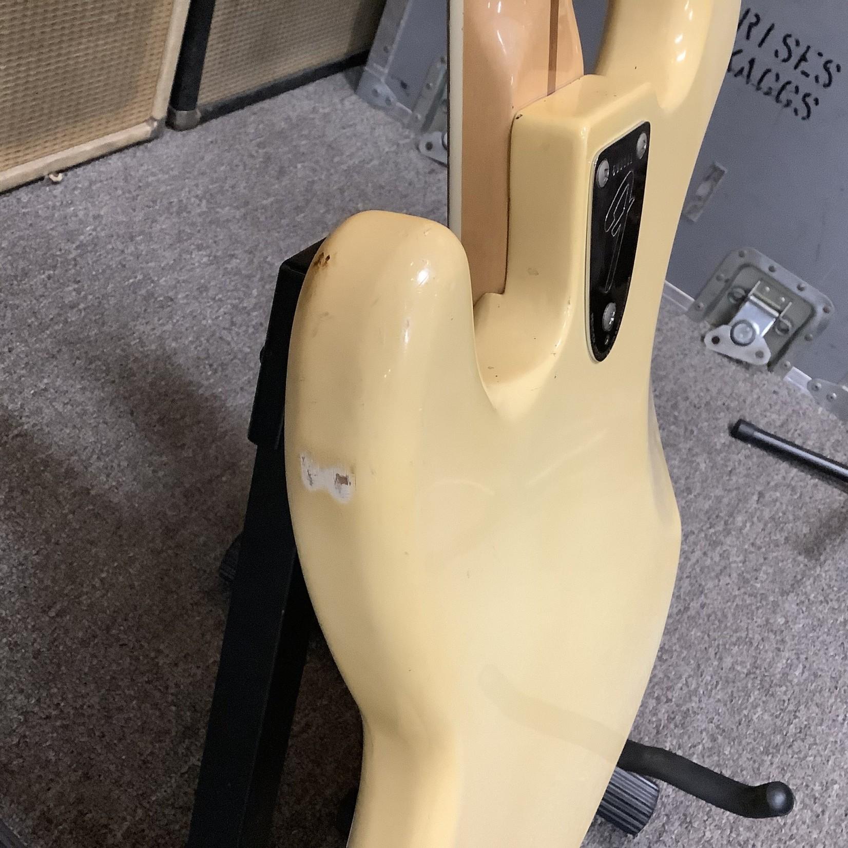 Fender 1976 Fender Jazz Bass Blonde Maple Neck White Block Inlays