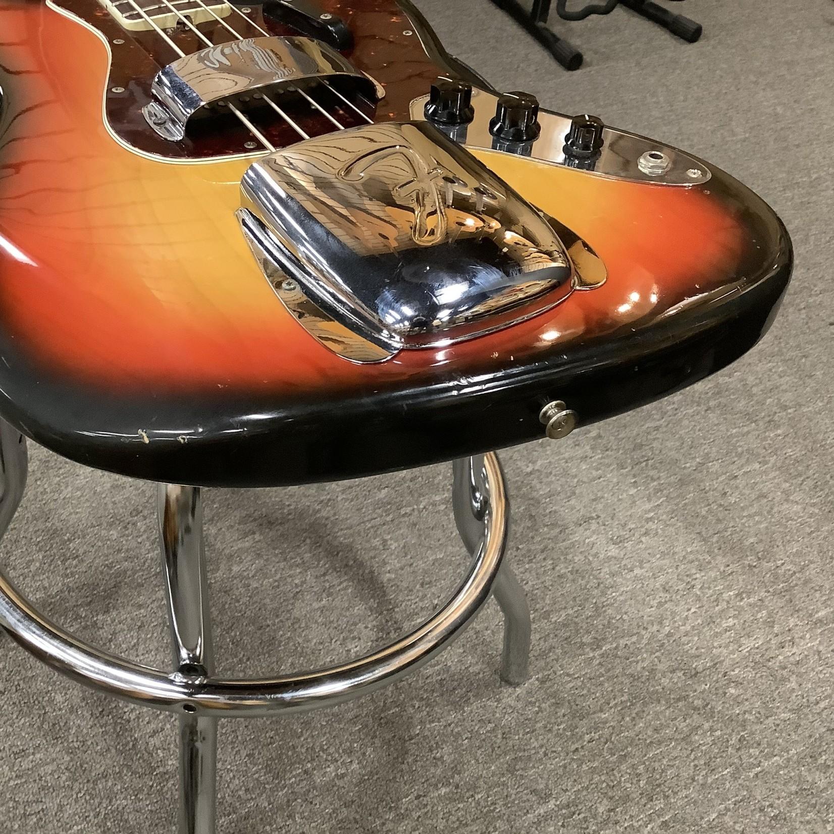 Fender 1969 Fender Jazz Bass Sunburst Refret