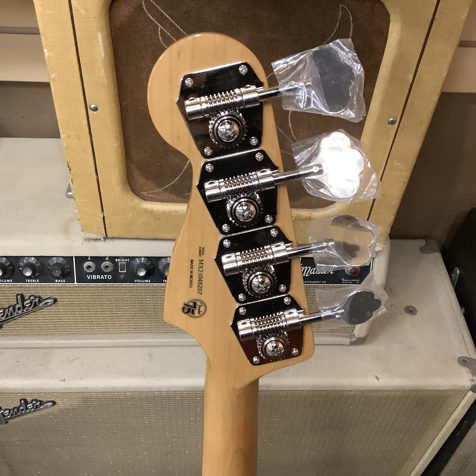 Fender New Fender Vintera 75th Anniversary 1960's Jazz Bass Sunburst