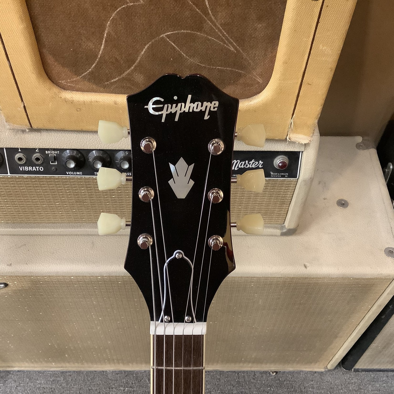 Epiphone New Epiphone SG Standard '61 Cherry Stop Tailpiece