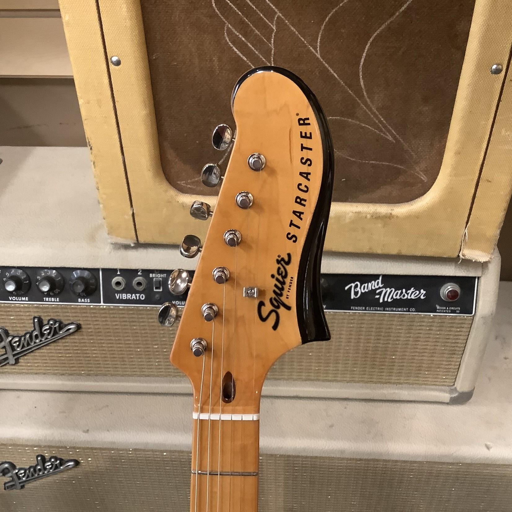 Squier Brand New Fender Squier Classic Vibe Starcaster Sunburst Maple Neck, Three Tone Sunburst