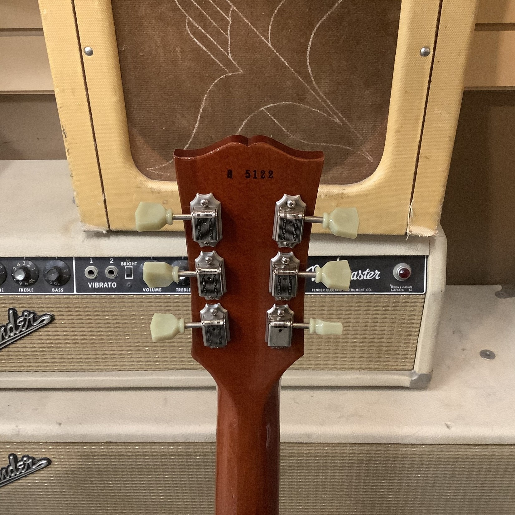 Gibson 2005 Gibson LP R8 Plain Top - Washed Cherry