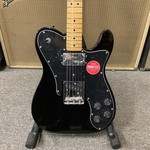 Squier New Fender Squier Made In China Telecaster Custom Black Classic Vibe