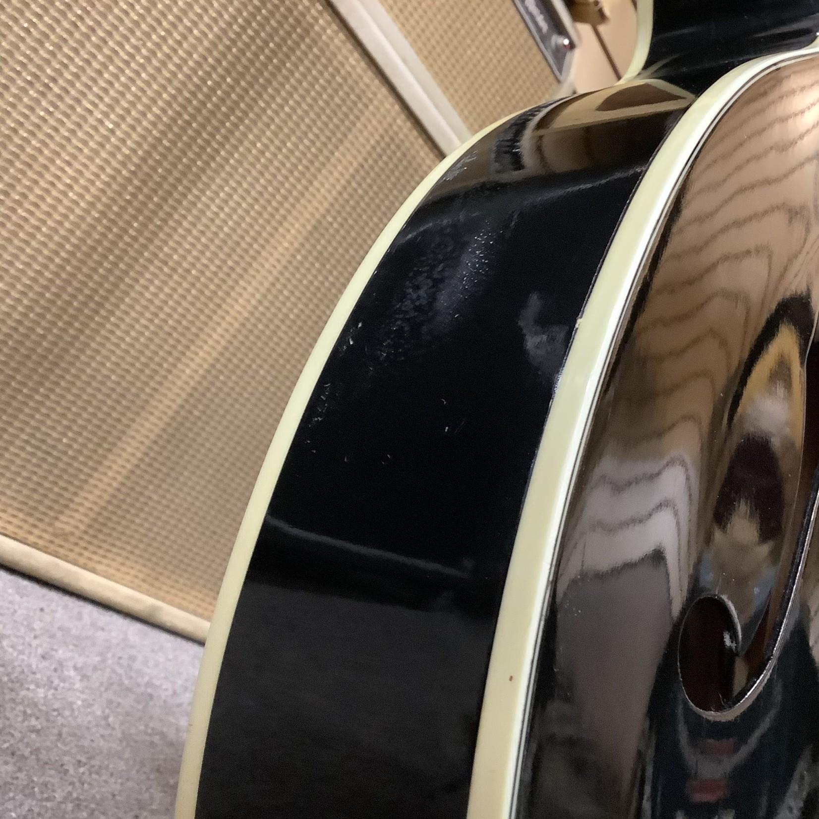 Kay 1950's Kay Uptown Factory Black-Kelvinator Headstock