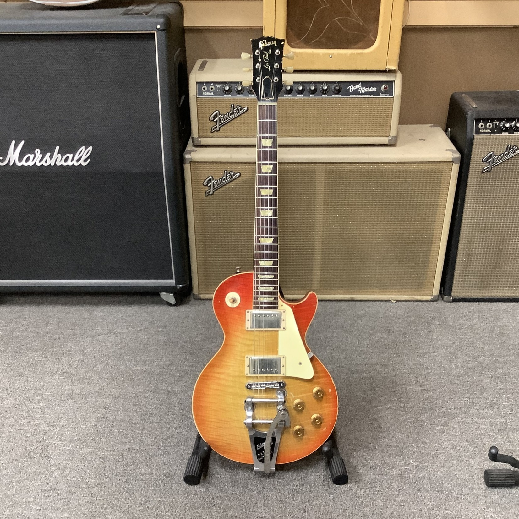 Gibson Mike McGuire Build For Les Paul Flametop with Bigsby (Non-Gibson)