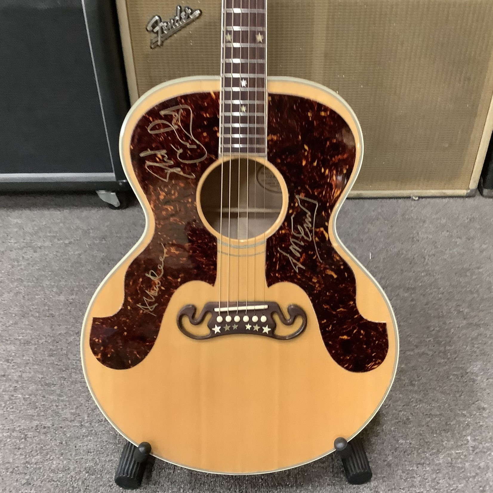 Gibson 1993 Gibson Everly Brothers Signed By Phil, Don and Albert Lee