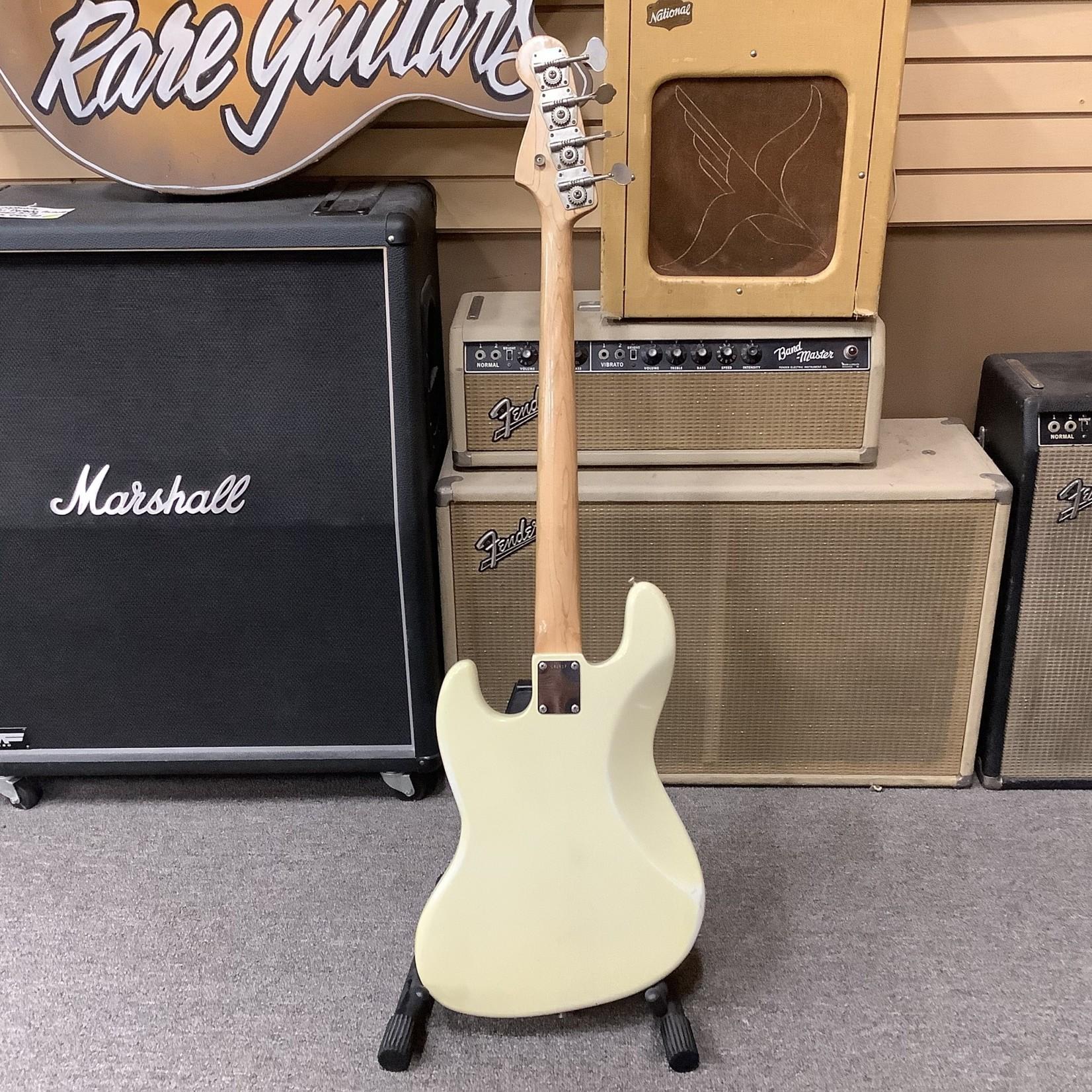 Fender 1965 Fender Jazz Bass White Matching Headstock, Dot Neck