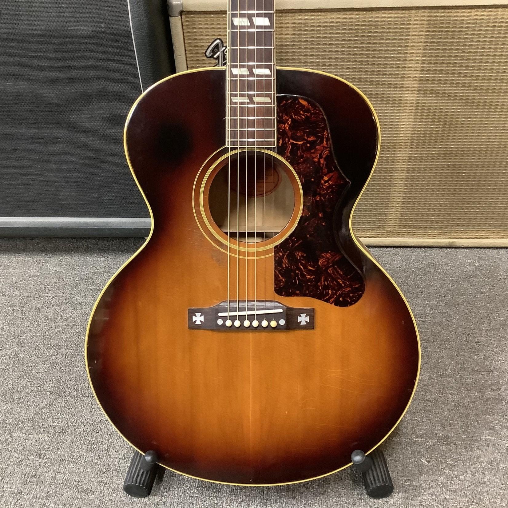 Gibson 1957 Gibson J185 Sunburst Re-Fret