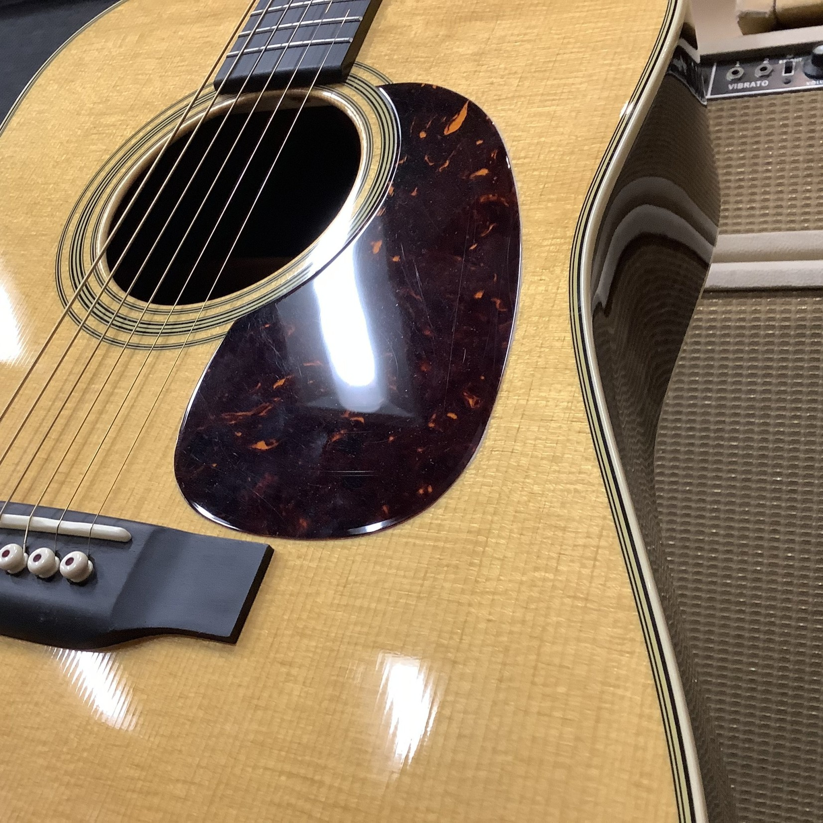 Martin Martin D-28 with Bigsby Headstock