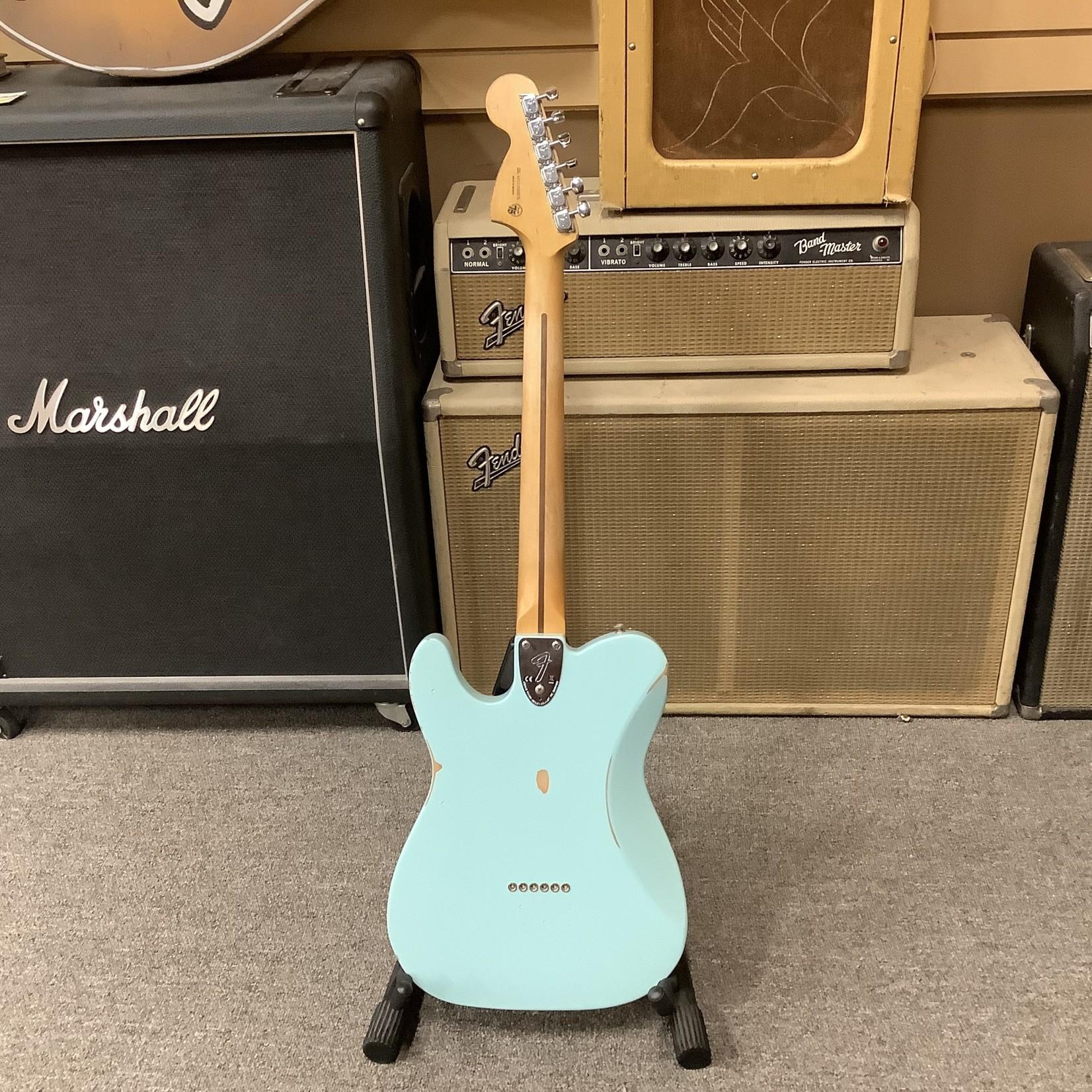 Fender Brand New Fender Vintera '70's Roadworn Telecaster Deluxe-Daphne Blue
