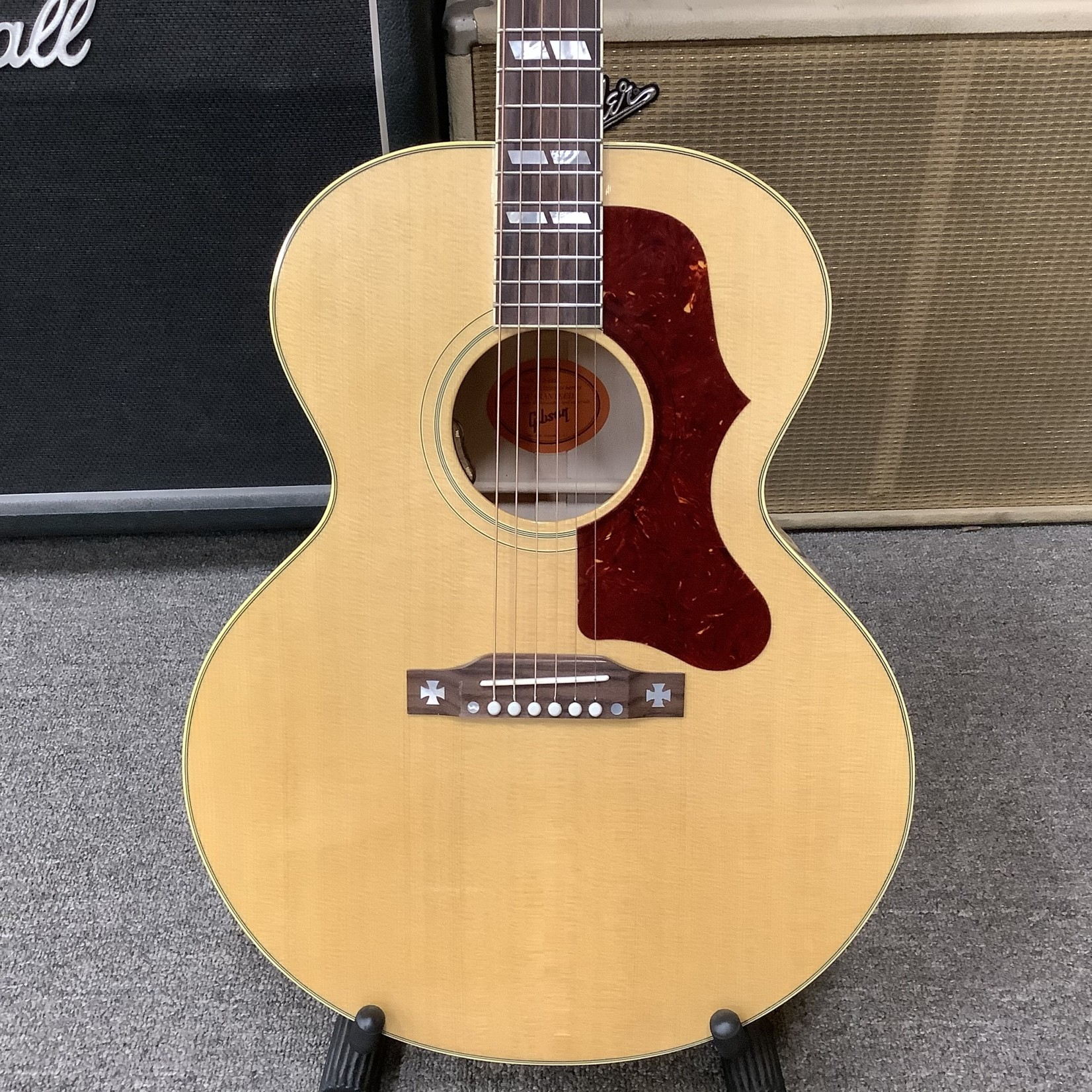 Gibson Brand New Gibson J-185 Antique Natural