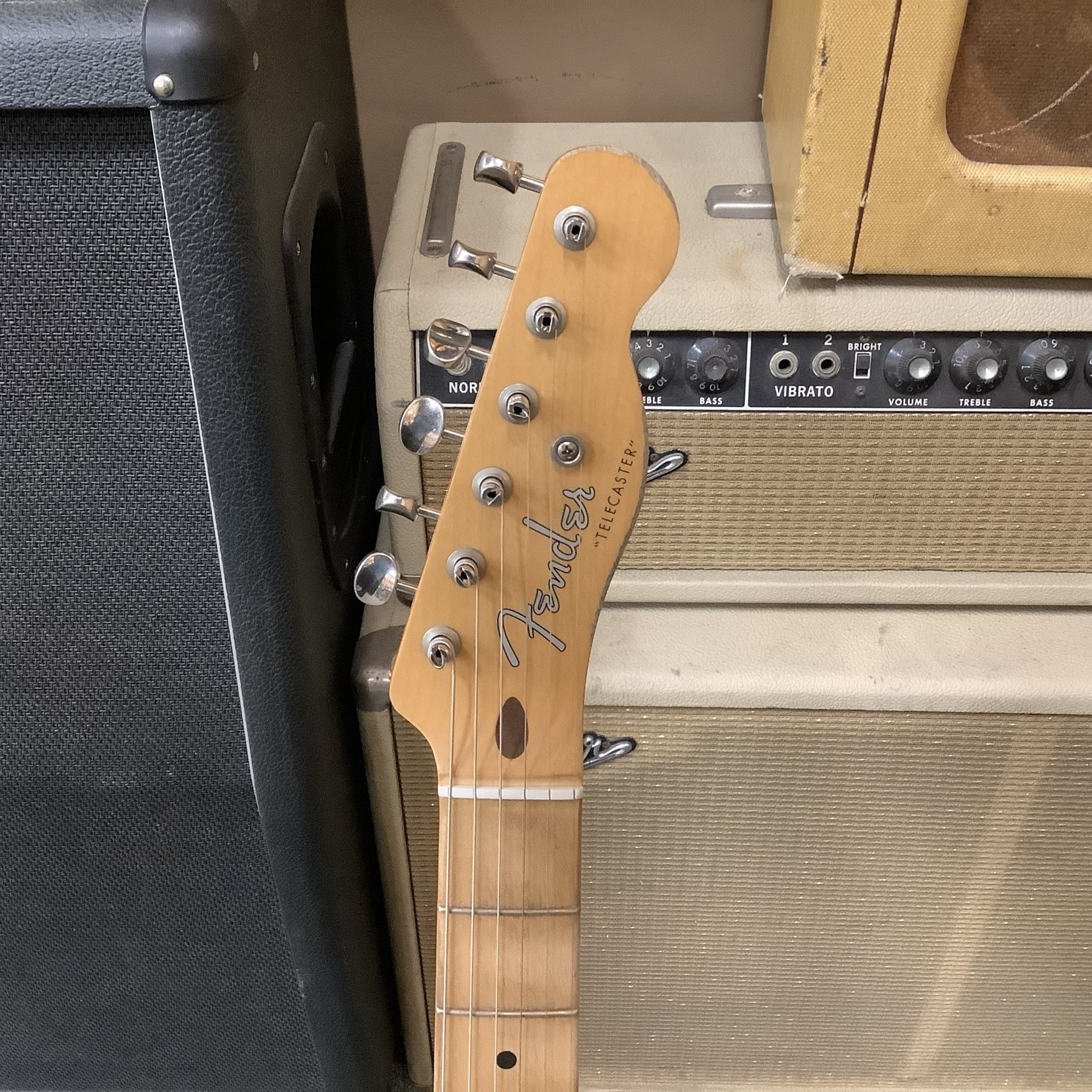 Fender Brand New Fender MX Roadworn 50's Telecaster Vintage Blond 75th Anniversary Vintera
