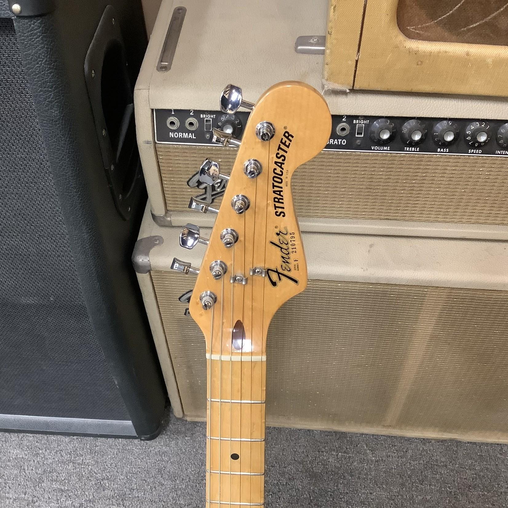 """Fender 1982 Fender """"Dan Smith"""" Stratocaster Hardtail, Blade Neck, Black Finish"""