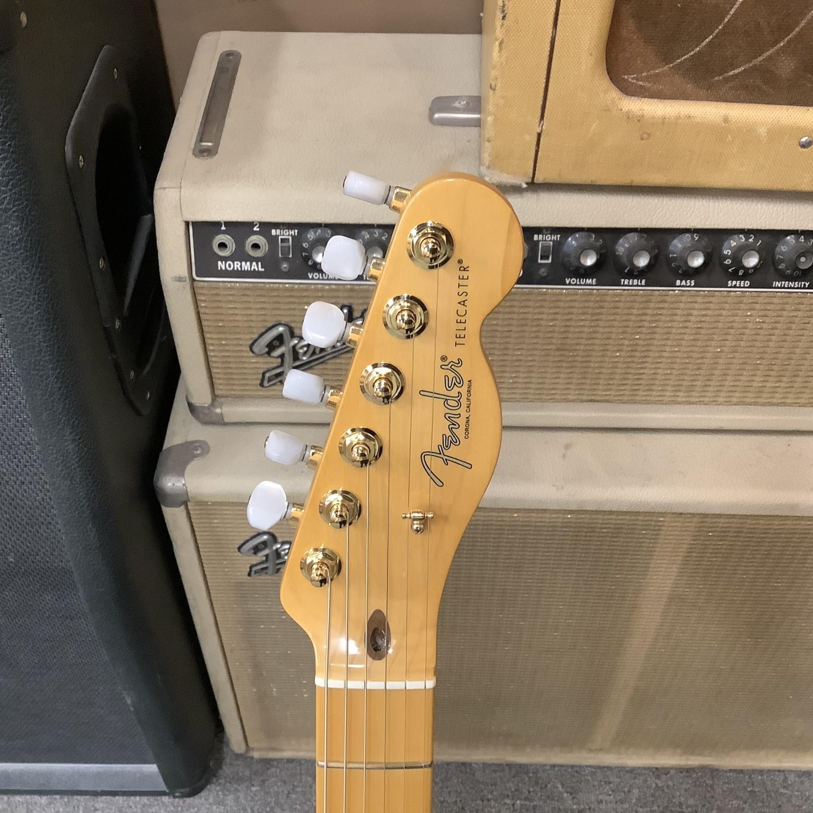 Fender Brand New Fender 75th Anniversary Commemorative Telecaster Sunburst w/Gold Parts