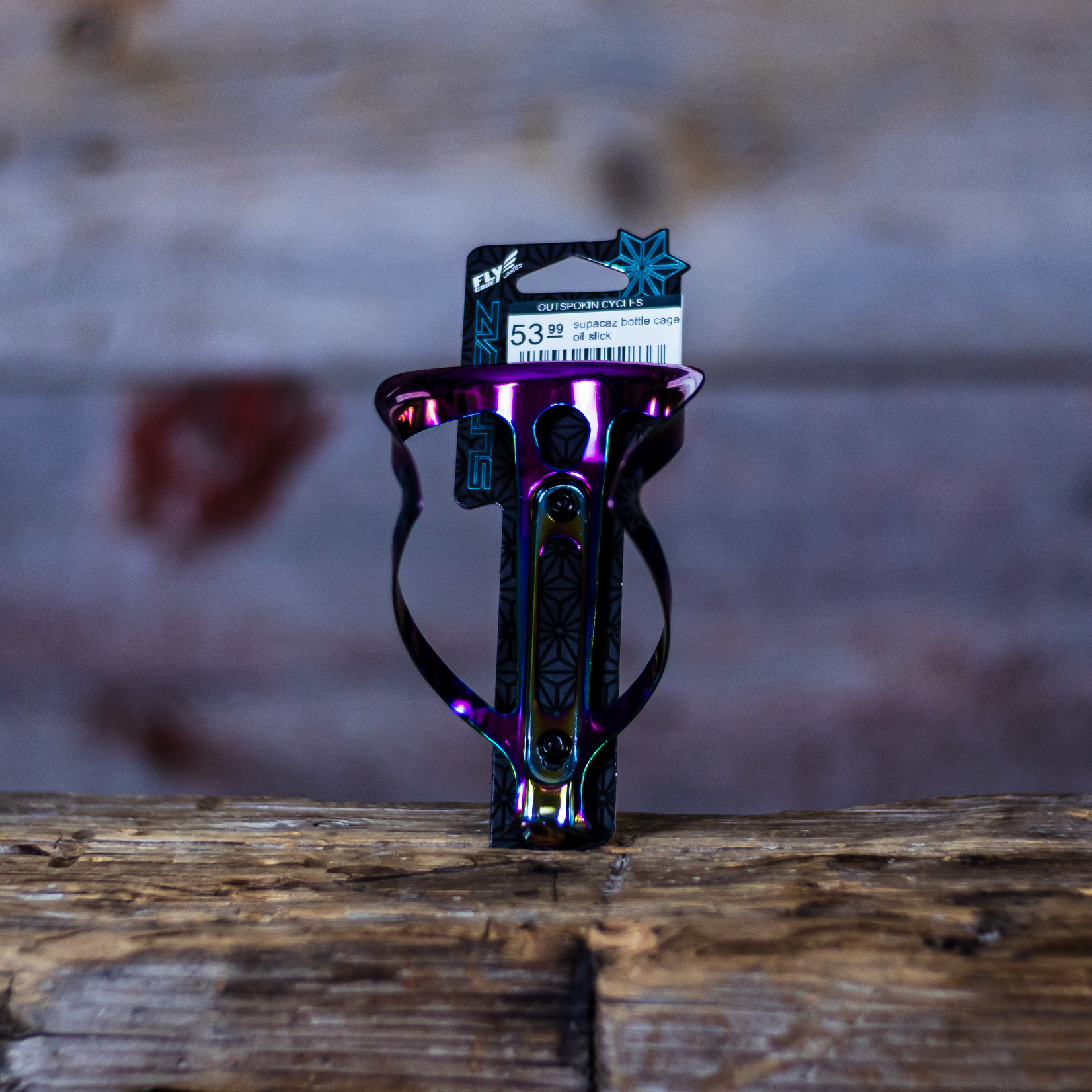 Supacaz Fly Cage Ano Oil Slick 18g