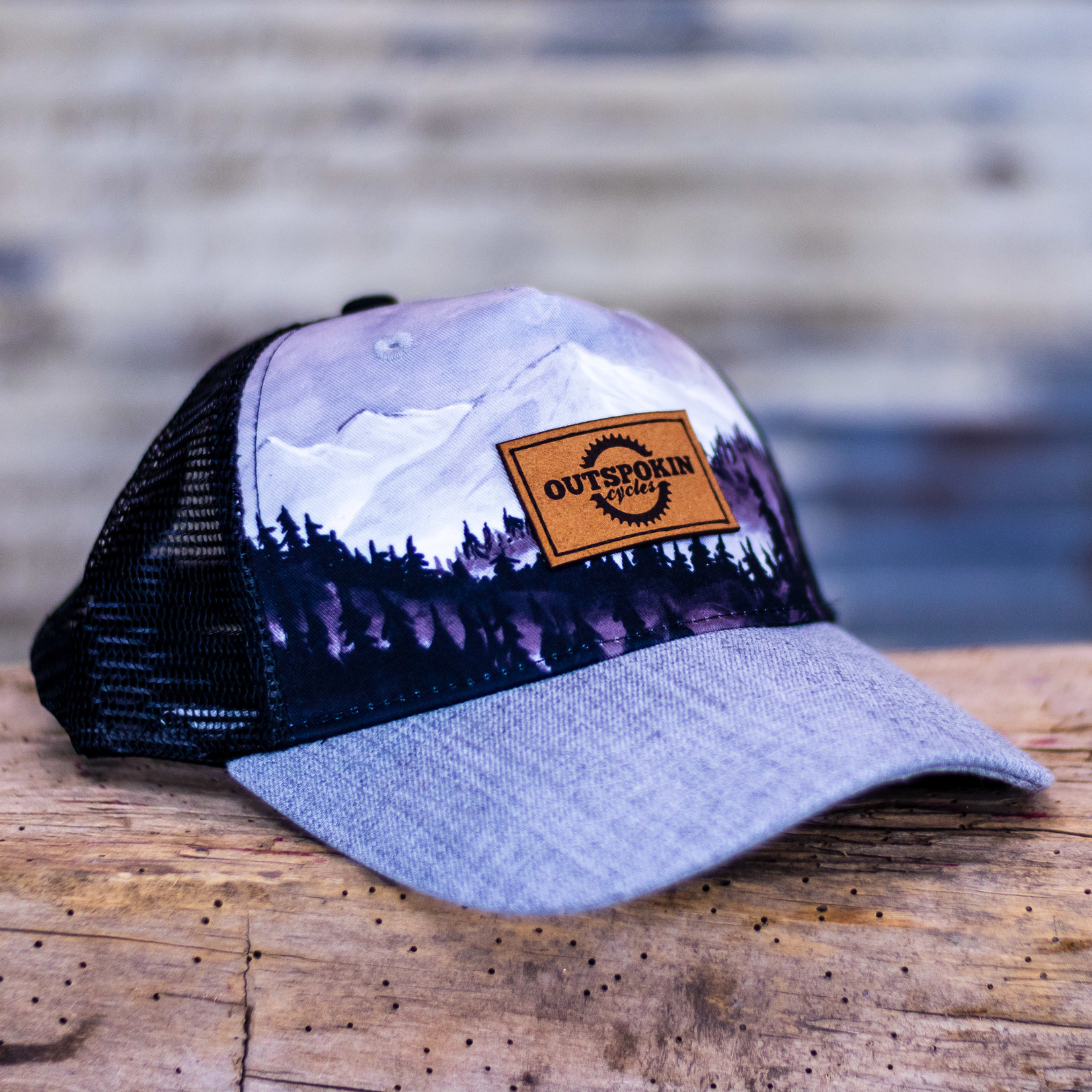 Outspokin Cycles OC Patch Locale Hat