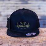 Sombrio Cypress Flatbrim - Black Luxury