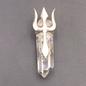 Brandenberg Quartz with Sterling Silver Trident