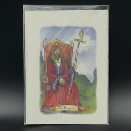 The Emperor - Tarot Greeting Card