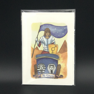 OMEN The Chariot - Tarot Greeting Card