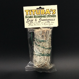 Sage & Sweetgrass Smudge Stick 5