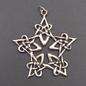 Lacework Pentagram Pendant in Sterling Silver