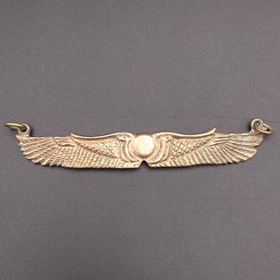 OMEN Winged Disk Choker in Bronze