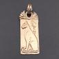 OMEN Scared Cat of Egypt Pendant in Bronze