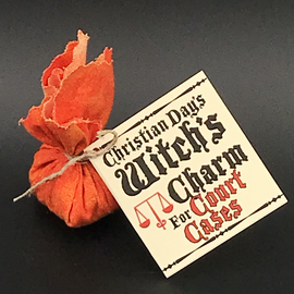 Witch's Charm for Court Case