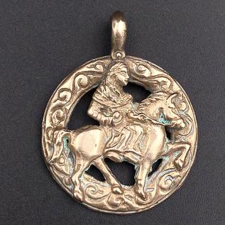 Epona Pendant in Bronze