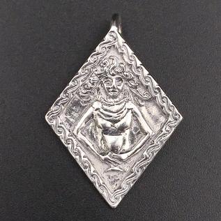 OMEN Bridgit Pendant in Sterling Silver