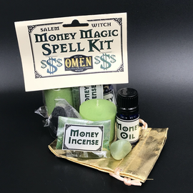 Salem Witch Money Magic Spell Kit