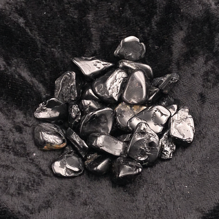 Stone Spinner Black Tourmaline Tumbled