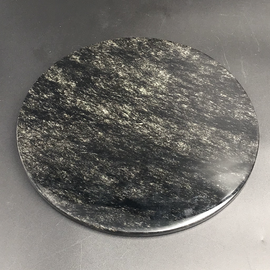 Medium Obsidian Scrying Mirror