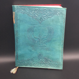 Large Isis Journal in Blue