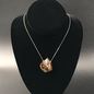 OMEN Genuine Amber Sterling Necklace