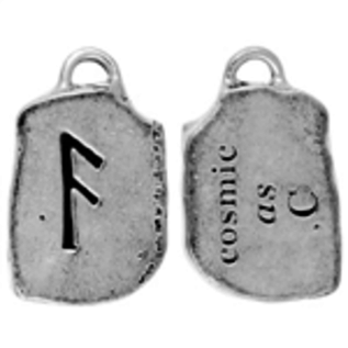 OMEN As Rune Pendant - Cosmic