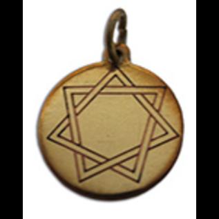 OMEN Heptagram, Mystic Star Charm Pendant for Harmony in Love & Friendship