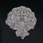 """OMEN Bacchus Dionysus Wine God Plaque 8 3/4"""" x 9 1/2"""""""