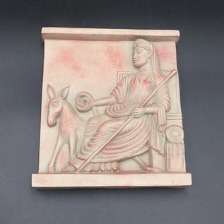 Vesta with Pales Plaque
