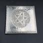Embossed Metal Pentacle Plaque