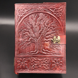 Small Tree of Life Journal in Brown