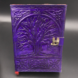 Small Tree of Life Journal in Purple