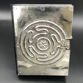 Small Hecate Wheel Journal with Metal Cover