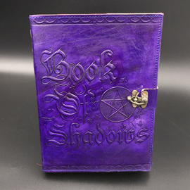 Small Book of Shadows Journal in Purple