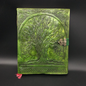 Shahid Kahn Leather Books Large Tree of Life Journal in Green